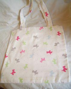 Tote Bag - Alfie Scottie Dog - The Supermums Craft Fair