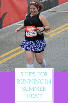 Check out these running tips for beginners for running in summer heat