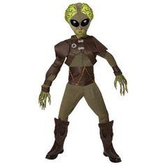 Alien Costume Boys Small 4-6