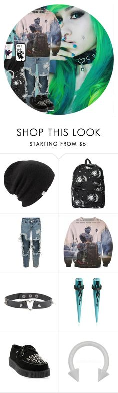 """FYD"" by chemicalfallout249 on Polyvore featuring Coal, Motel, OneTeaspoon, Samsung, Hot Topic and T.U.K."