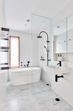 Breathtaking >> Bathroom Ideas Grey And White #follow