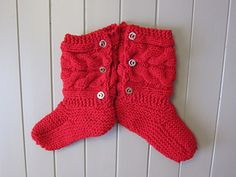 AnnieJeanson's Little Red Riding Slippers