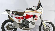 Yamaha Tenere. Dakar bike