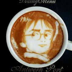 Kiddo would love this.    Harry Potter Latte Foam - Coffee Love