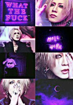 Ruki Falling purple
