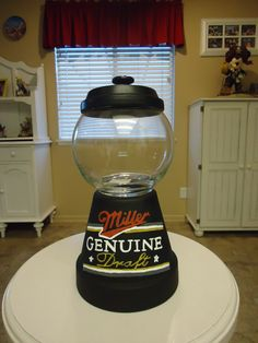 Miller Genuine Candy Jar