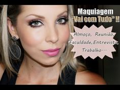 Maquiagem básica, Compromissos do dia a dia, com Lu Ferraes :: Versatile Make-up Look for day-time occasions. By MUA Luciane Ferraes [in Portuguese]