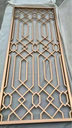 copper color stainles steel metal screen-Shanghai Yikai Metal Products Co. Home Window Grill Design, Balcony Grill Design, Grill Door Design, Balcony Railing Design, Main Door Design, Front Door Design, Window Design, Steel Grill Design, Home Design