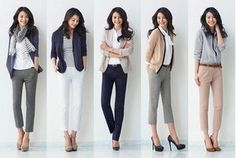 少ない服で着回すオフィスカジュアル・通勤服の揃え方 - NAVER まとめ