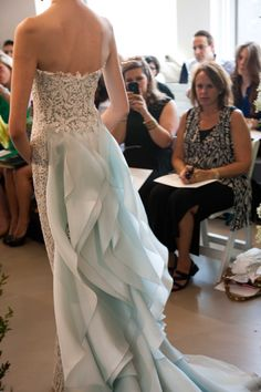 OSCAR DE LA RENTA BRIDAL 2013 - PHOTO BY nathan kraxberger   This will be my dress! It is like a mermaid dress!
