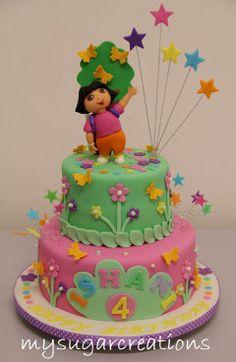 dora cakes | My Sugar Creations (001943746-M): Dora Cake - Ishani