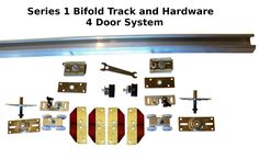 Series 1 HBP Bifold Track and Hardware Kits- Wheel Roller