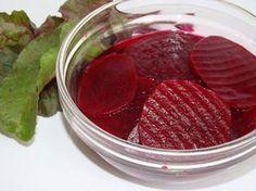 Cékla befőtt recept Beet Recipes, Healthy Recipes, Healthy Food, Pickled Beets Recipe, Hungarian Recipes, Hungarian Food, Pickling Cucumbers, Beetroot, Pickles