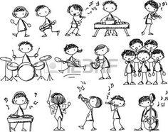 caja de musica: Doodles Música