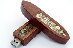 Steampunk USB stick