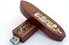 Steampunk USB stick