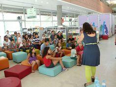 O espaço vai receber várias atividades com jogos, teatro e leitura até dia 29 de dezembro. A entrada é Catraca Livre.