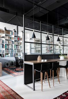 Rare Bookseller' Office Space in Surry Hills by Busatti Studio