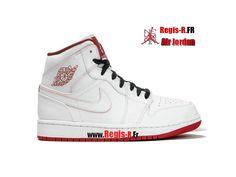 best sneakers ba435 17743 Nike Air Jordan 1 Mid Retro PS - Chaussures Basket Jordan Pas Cher Pour  Enfant Gym