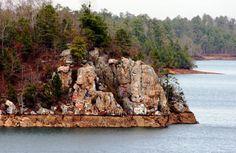 Lake Martin, Alabama - Chimney Rock