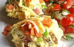 Pizza Egg Melts Recipe - Recipezazz.com