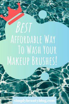 """Washing makeup brushes is a pain! It's either an expensive solution or some """"ooze"""" that causes the bristles to fly out… until now! Click here to learn more!"""