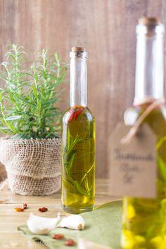 Knoblauch-Chili-Öl