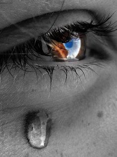 Tears are far more beautiful than anything that you have with you, because tears come from the overflow of your being.