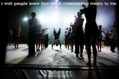 you might not think its a sport, but it is to me. Cheer is my world.  please respect that.
