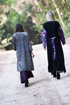 Taking a closer look on the Nuttah Coat and the Orenda Kimono!