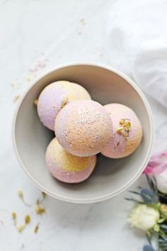 No crumbling, no mess! You'll get perfect bath bombs every time with this nourishing, skin soothing coconut oil bath bombs recipe.
