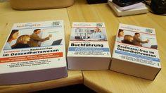 (Anschaffung Oktober 2015) Lernkarten Basis - Kauffrau/ -mann im Gesundheitswesen Lernkarten ADD-ON - BuchführungLernkarten ADD-ON - Kauffrau/ - mann im Gesundheitswesenon Top: Karteikartenkasten (twin boxx)