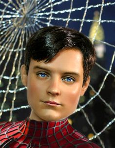 Barbie * herec Tobey MaGuire - z filmu Spiderman alias Peter Parker.