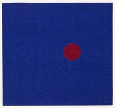 Ellsworth Kelly (b. 1923) | Red and Blue | 1951