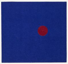 Ellsworth Kelly: Red and Blue (1951)