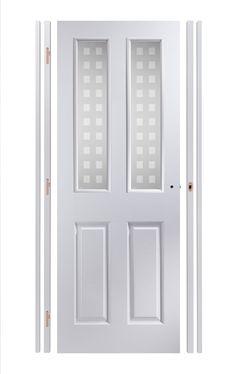 Glazed Door glazed white internal door 2 pane (dominica) | decor | pinterest