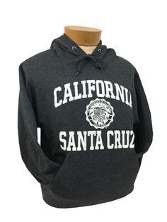 Dark Heather California Santa Cruz Seal Hood
