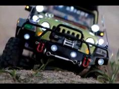 Realistic RC experience - RC// Jeep Wrangler JK release,,, - YouTube
