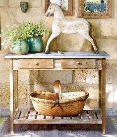 potting table/console