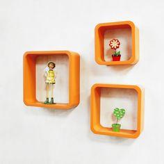 Cube Wall Shelf, Wall Cubes, Cube Shelves, Wall Shelves, Wooden Walls, Nursery, Create, Furniture, Design