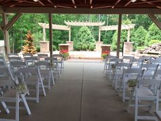 Our new Garden's at Sand Springs!! A beautiful location for onsite ceremonies and cocktail hours.