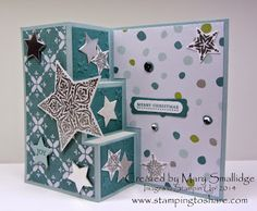 Stamping to Share: Demo Meeting Technique Swap Cards Part One