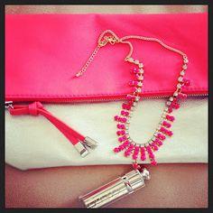 Inspiração do dia: pink e metálico | Passaporte do Luxo