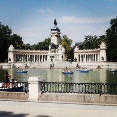 Parque del Retiro em Los Madriles, Madrid