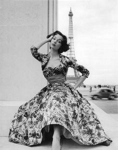 Ivy Nicholson, Paris, 1953