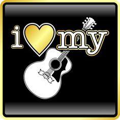 I love my guitars