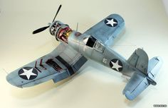 F4U-1 Corsair, Tamiya, 1:48 scale, by Aleksandr Schastnyj, more pics: http://www.war.ee/modelling_area/view_model.php?id=396