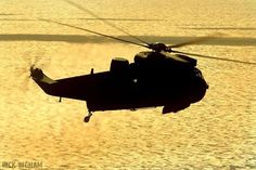 Sea King at sunset