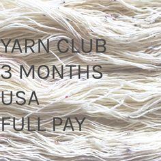 Yarn Club | 3 Months | U.S.