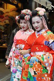 Image result for geisha kimono